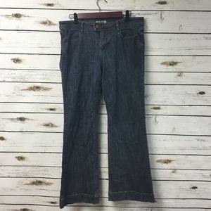 * Cabi women's size 10 flare leg jeans